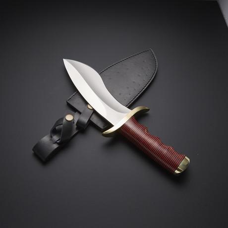 Fixed Blade Sasquatch Bowie Knife // RAB-0243