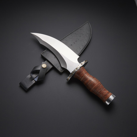 Fixed Blade Bowie Knife // RAB-0260