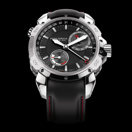 Pierre DeRoche TNT GMT Power Reserve 43 Automatic // TNT10012ACTI0-001CAO