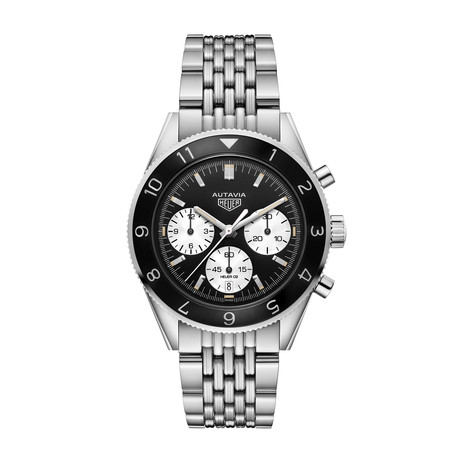 Tag Heuer Heritage Chronograph Automatic // CBE2110.BA0687 // New