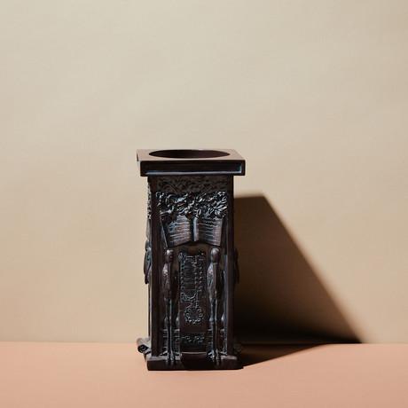 Stork Panel Candleholder