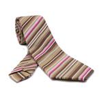 Ercole Silk Tie // Multi Color Stripes