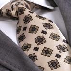 Arsenio Silk Tie // Cream