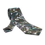 Ale Silk Tie // Green Paisley