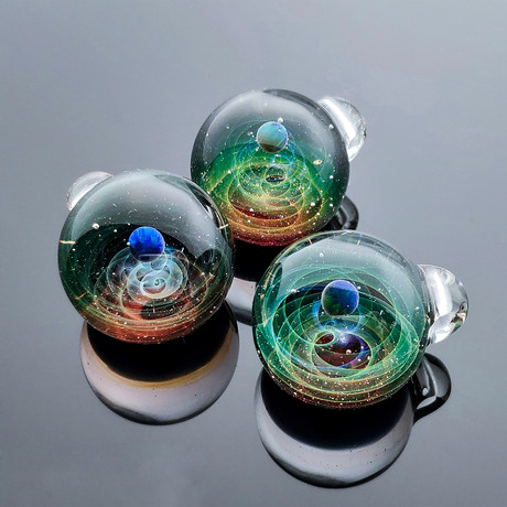 Galaxy Globe Necklace // GN-R002