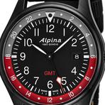 Alpina GMT Quartz // AL-247BR4FBS6