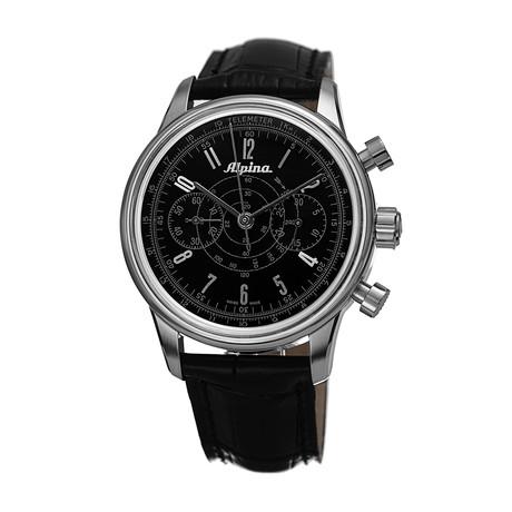Alpina Heritage Pilot Chronograph Automatic // AL-860G4H6