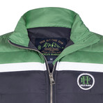 James Coat // Navy + Green (M)