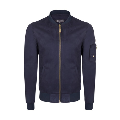 Cas Jacket // Navy (XS)