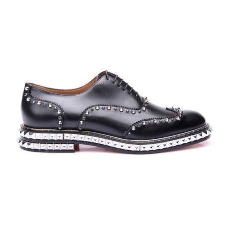 Men's // Bolli Studded // Black (Euro: 40.5)