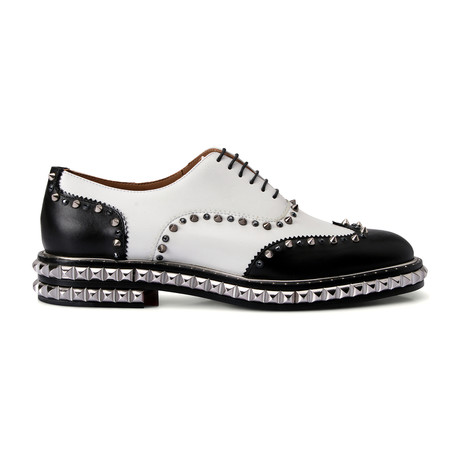 Men's // Bolli Studded // White (Euro: 40.5)