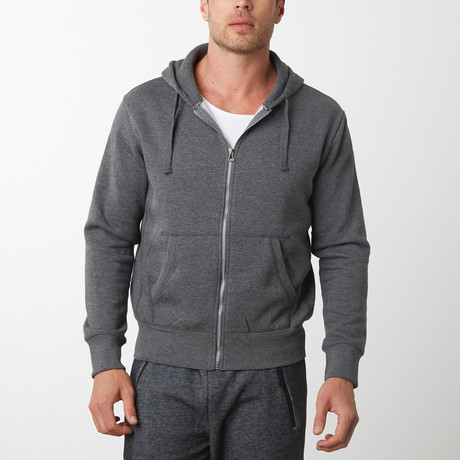 Tech Fleece Thermal Lined Hoodie // Charcoal (S)
