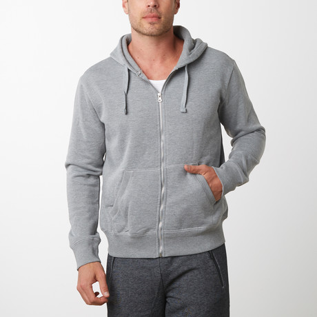 Tech Fleece Thermal Lined Hoodie // Heather Gray (S)