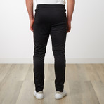 Tri-stripe Track Pants // Black (L)