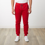 Tech Jogger // Red (M)