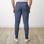 Tech Jogger // Heather Navy (M)