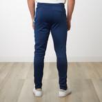 Tri-stripe Track Pants // Navy (XL)