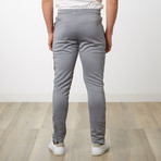 Tri-stripe Track Pants // Gray (M)