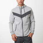 Tech Fleece Victory Hoodie // Heather Gray (2XL)
