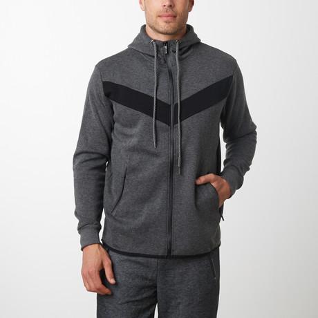 Tech Fleece Victory Hoodie // Charcoal (S)