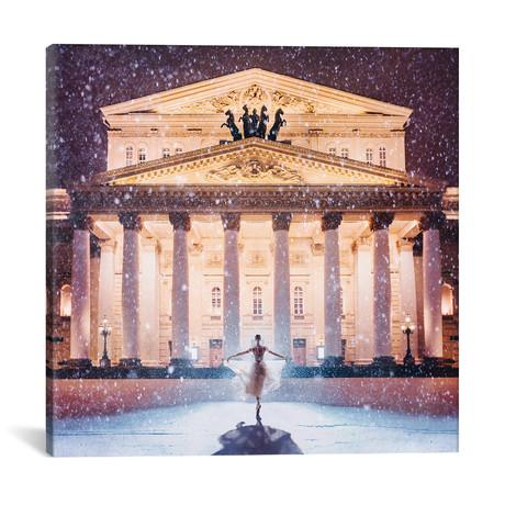 "Bolshoi Theatre // Hobopeeba (18""W x 18""H x 0.75""D)"