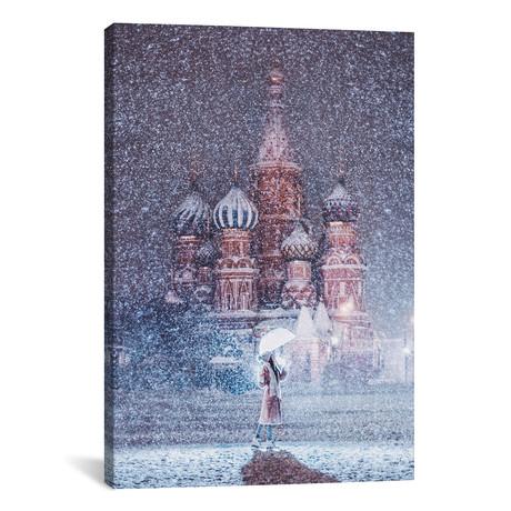 Moscow Snowfall // Hobopeeba