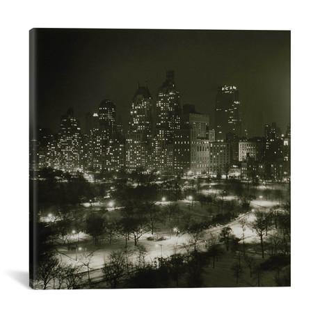 "Winter Central Park // Print Collection (18""W x 18""H x 0.75""D)"