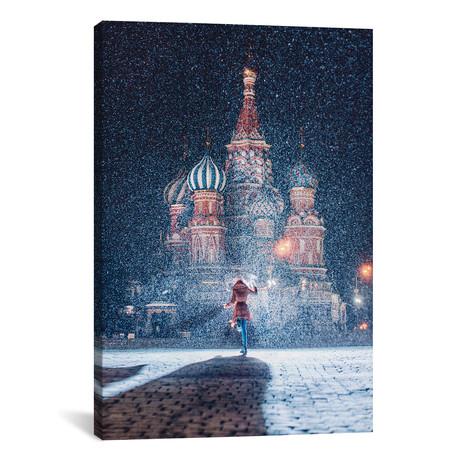 """Moscow Like Fairytale // Hobopeeba (26""""W x 18""""H x 0.75""""D)"""