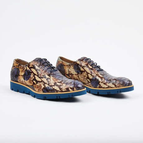 Python Lace Up Casual Shoe // Multi (US: 7)