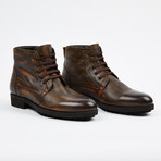 Antique Finish Chukka Boot + Fur Lining // Tobacco (US: 8)