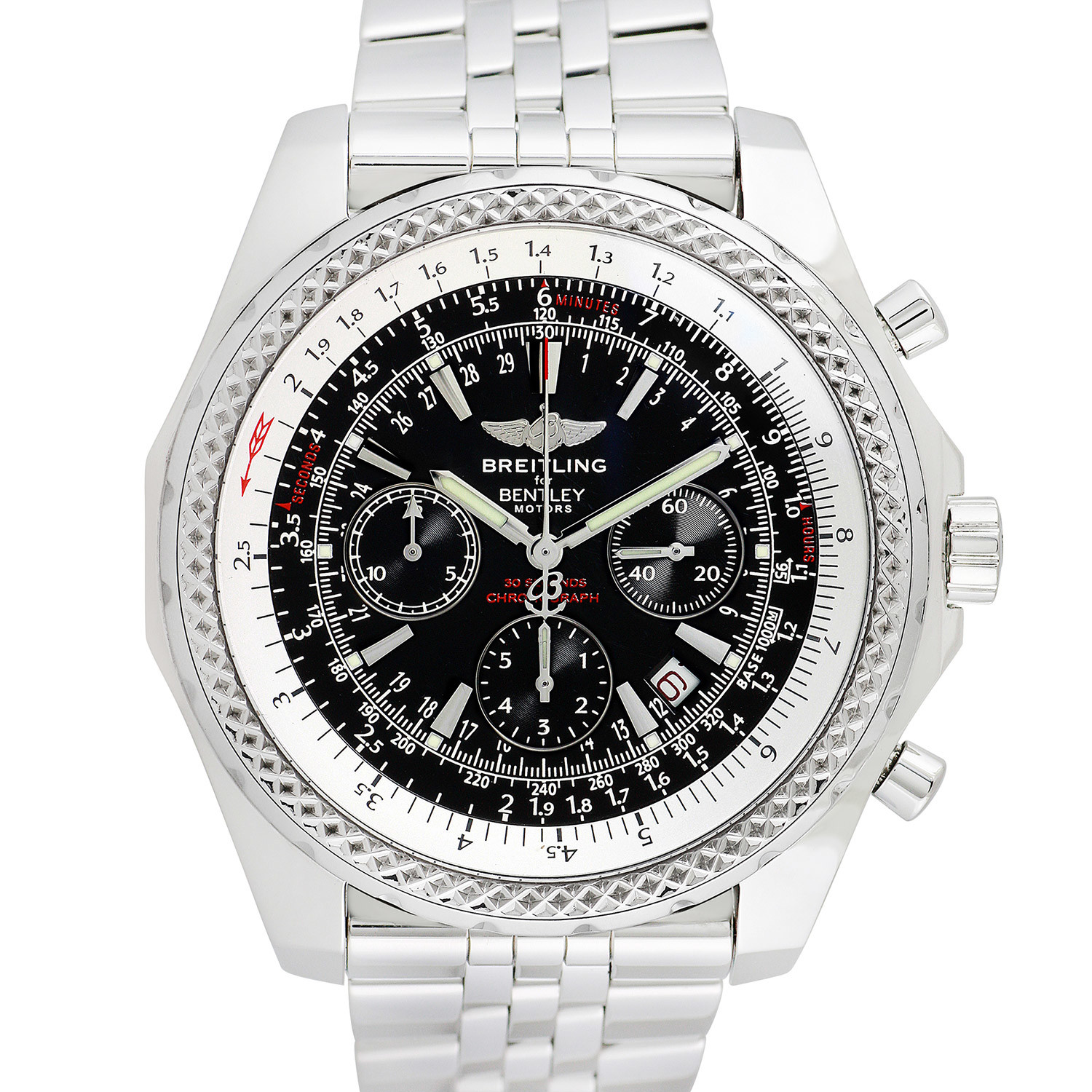Pre Owned Bentley For Sale: Breitling Bentley Chronograph Automatic // Pre-Owned