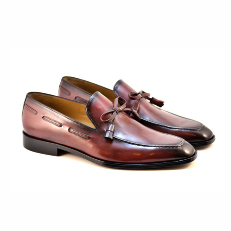 Bow Loafer // Burgundy (US: 7)