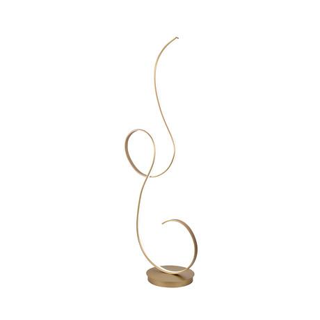 Luma Floor Lamp (Gold)