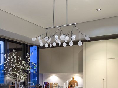Photo of Contempo Lights Elevated LED Lighting Lacy Chandelier by Touch Of Modern