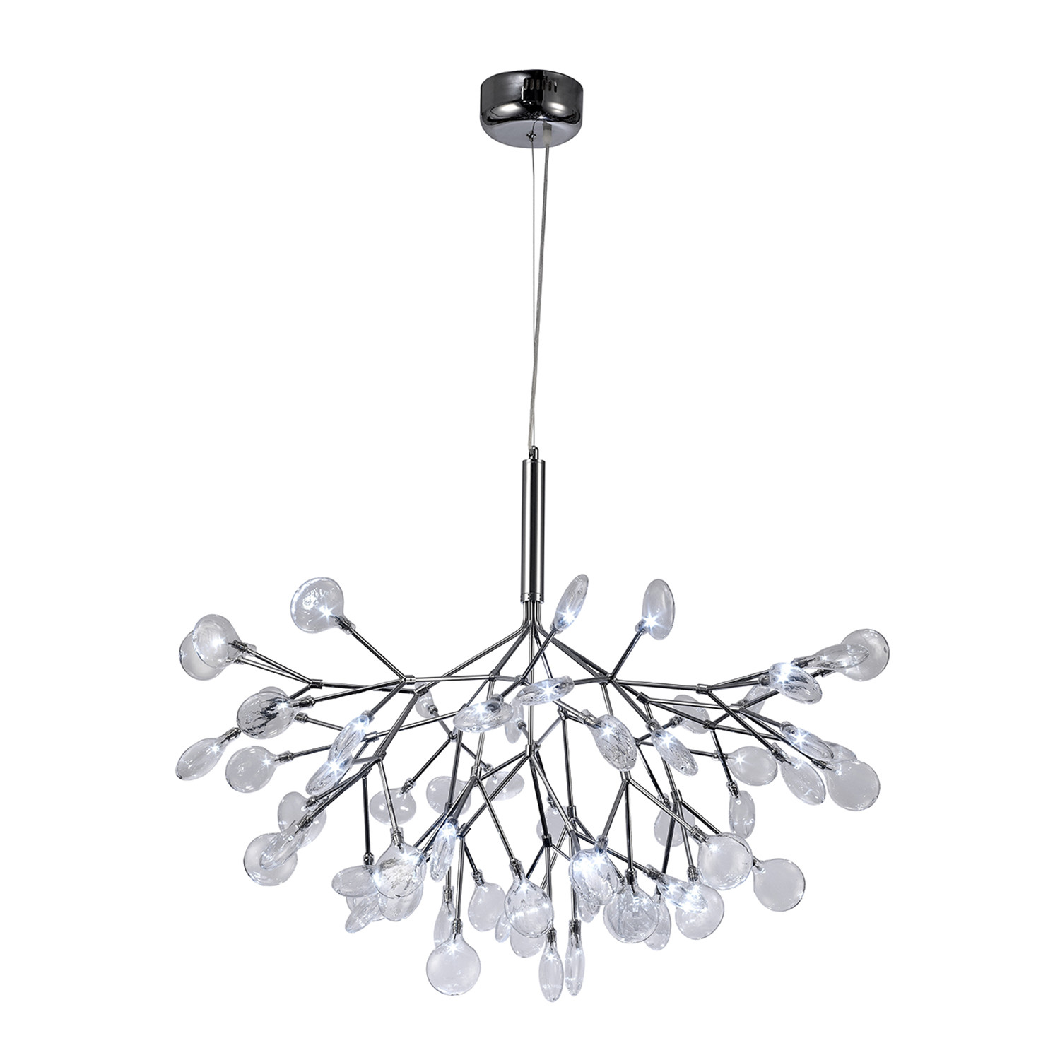 karry chandelier - contempo lights