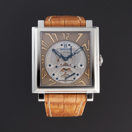Milus Herios Triretrograde Automatic // HERT003 // Store Display