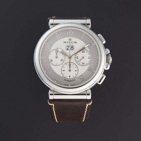 Milus Zetios Chronograph Automatic // ZETC004 // Store Display