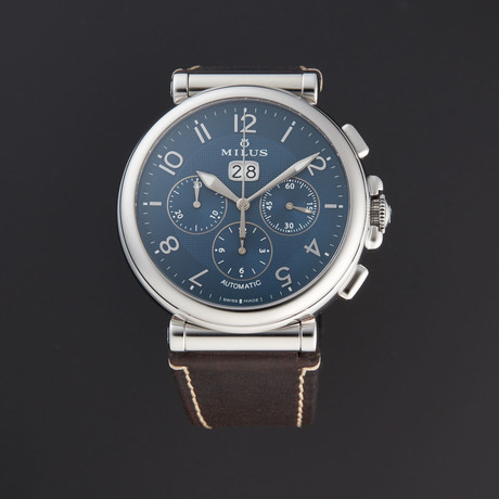 Milus Zetios Chronograph Automatic // ZETC009 // Store Display