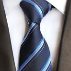 Karl Tie // Navy Cross Stripes