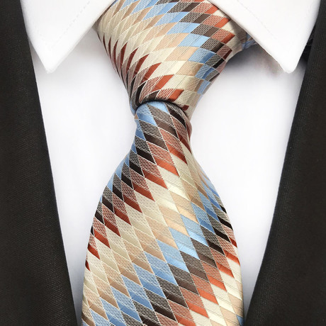 Craig Tie // Multicolor Stripes