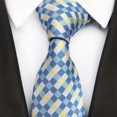 Eryk Tie // Blue + White