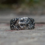 Ring + Anchor + Chains (6)