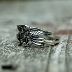 Navy Seals Eagle Trident Ring (9)