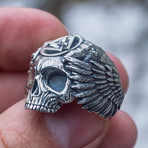 Odin Skull + Ravens (10)