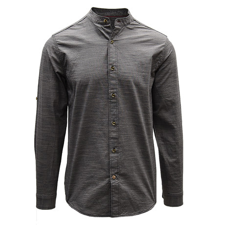 Coney Henley // Charcoal (S)