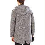 Jayce Duffle Coat // Dark Gray Melange (2XL)