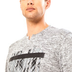 Tyler T-Shirt // Gray Melange (M)