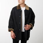 Dylan Spanish Shearling Coat // Black (XS)