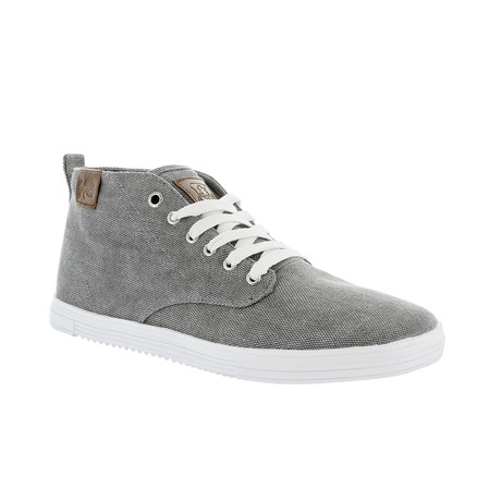 Leon Sneaker // Gray + White (US: 7)