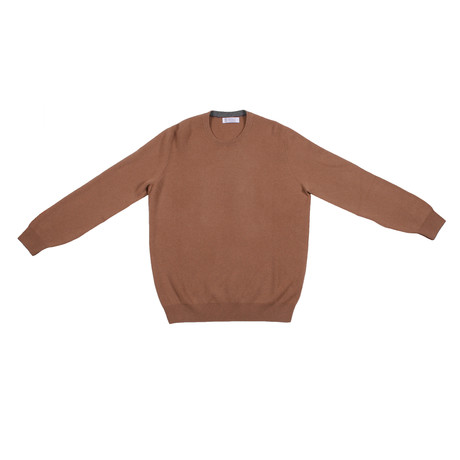Castellano Cashmere Knit // Brown (Euro: 46)
